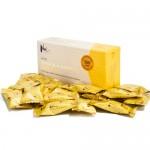 Παστίλιες με Μέλι Μανούκα MGO 500+ 'Λεμόνι & Τζίντζερ' (16τμχ) Nui Honey