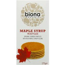 Βάφλες με Σιρόπι Σφενδάμου (175γρ) Biona