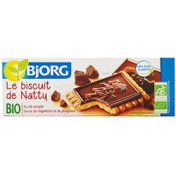 Μπισκότα με Επικάλυψη Mαύρης Σοκολάτας 'De Natty' (150γρ) Bjorg