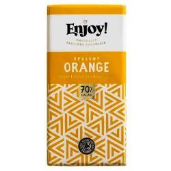Vegan Σοκολάτα με Πορτοκάλι (70γρ) Enjoy!