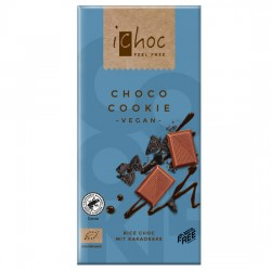 Vegan Σοκολάτα με Μπισκότα (80γρ) iChoc Vivani