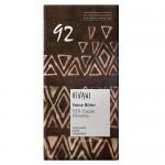 Σοκολάτα Μαύρη με 92% Kακάο Παναμά (80γρ) Vivani