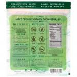 Τορτίγιες Καρύδας με Moringa - Raw - Vegan - Χωρίς Γλουτένη/Ζάχαρη (5x14γρ) Nuco
