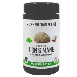 Ρόφημα με Matcha & Θεραπευτικό Μανιτάρι Lion's Mane (110γρ) Mushrooms 4 Life