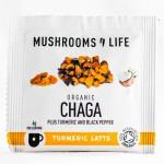 Ρόφημα με Κουρκουμά & Θεραπευτικό Μανιτάρι Chaga (1φκλ) Mushrooms 4 Life