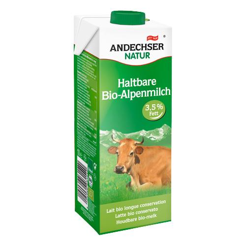 Γάλα Αγελαδινό 3.5% λιπαρά (1λτ) Andechser