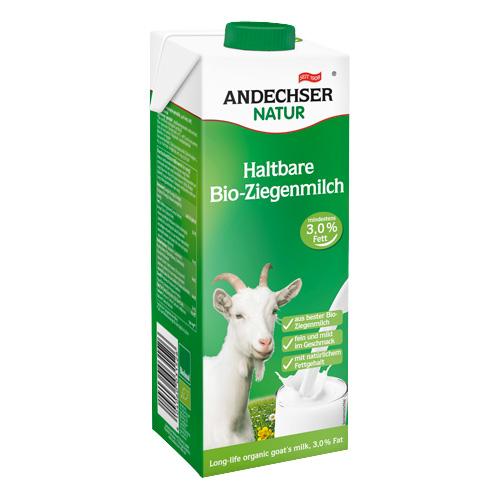 Γάλα Κατσικίσιο 3% λιπαρά (1λτ) Andechser
