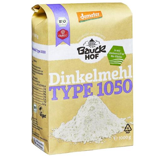 Αλεύρι Σιταριού Ντίνκελ/Σπελτ Ημιολικής T1050 (1kg) Bauckhof