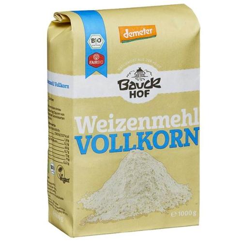 Αλεύρι Σιταριού Ολικής Άλεσης (1kg) Bauckhof