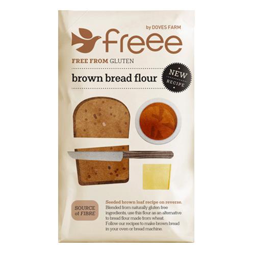 Χωρίς Γλουτένη Μείγμα Αλεύρων για Σκούρο Ψωμί (1kg) Freee by Doves Farm