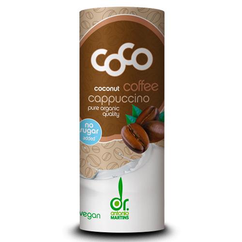 Γάλα Καρύδας με Καφέ 'Coco Cappuccino' - Χωρίς Ζάχαρη (235ml) Dr. Martins