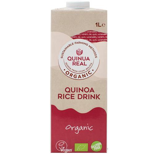 Ρόφημα Βασιλικής Κινόα με Ρύζι (1λτ) Quinua Real