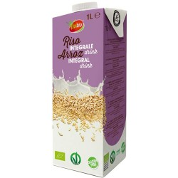 Ρόφημα Καστανού Ρυζιού Ολικής - Χωρίς Γλουτένη/Ζάχαρη (1L) Vivibio