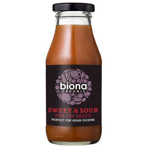 'Ετοιμη Γλυκόξινη Σάλτσα για Stir-Fry (240ml) Biona
