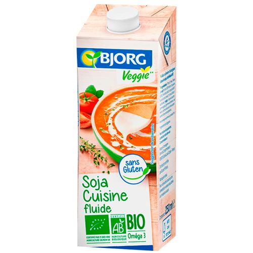 Κρέμα Μαγειρικής Σόγια (250ml) Bjorg