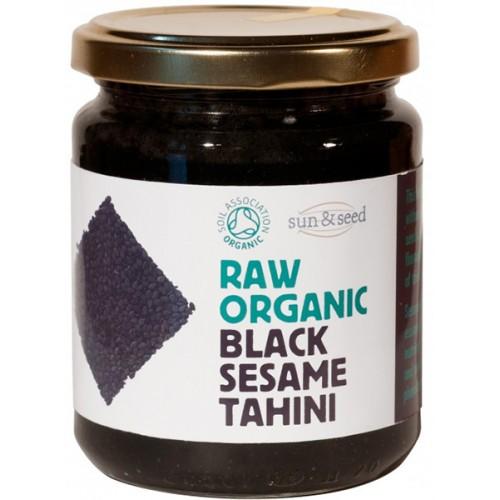 Ωμό Ταχίνι από Ακατέργαστο Μαύρο Σουσάμι (250γρ) Sun & Seed