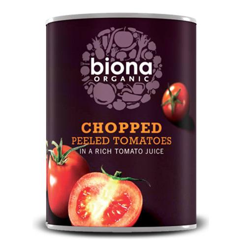 Ψιλοκομμένες Τομάτες σε Χυμό Τομάτας (400γρ) Biona