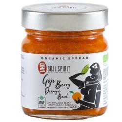 Επάλειμμα με Goji, Πορτοκάλι & Βασιλικό  - Χωρίς Ζάχαρη (240γρ) Goji Spirit