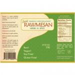 Διατροφική Μαγιά Rawmesan 'Herbs & Spices' (114gr) Gopal's