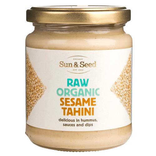 Ωμό Ταχίνι από Λευκό Σουσάμι (250γρ) Sun & Seed
