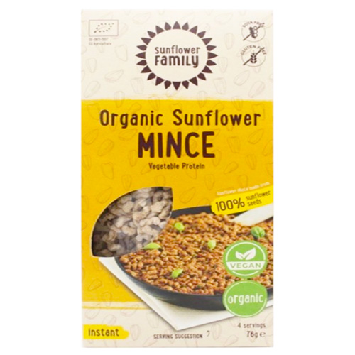 Vegan Κιμάς από Ηλιόσπορο (76γρ) Sunflower Family