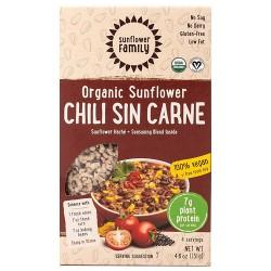 Vegan Κιμάς από Ηλιόσπορο με γεύση 'Τσίλι' (131γρ) Sunflower Family