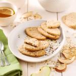 Bio Μπισκότα Βρώμης με Μήλο & Σπόρους 'Apple Bisco' Χωρίς Γλουτένη (105γρ) Dr. Schar