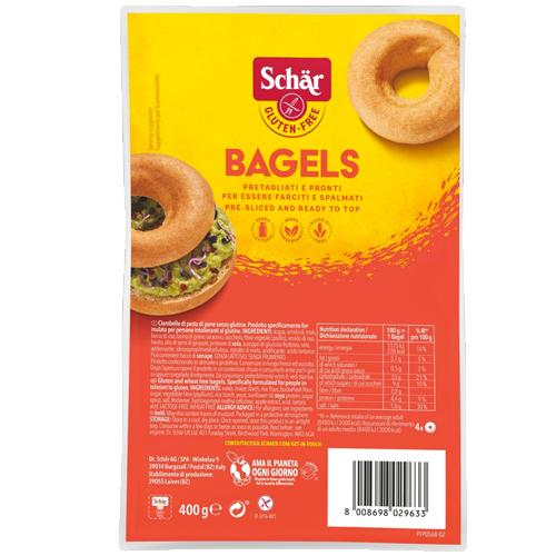 Ψωμάκια Bagels Χωρίς Γλουτένη/Λακτόζη (4x100γρ) Dr. Schar