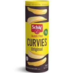 Πατατάκια 'Curvies' Χωρίς Γλουτένη - Φυσική (170γρ) Dr. Schar