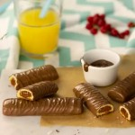 1+1 ΔΩΡΟ! Μπισκότο με Επικάλυψη Σοκολάτας & Γέμιση Καραμέλας 'Chocolix' - Χωρίς Γλουτένη (5x22γρ) Schar