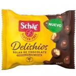 Μπαλίτσες  Δημητριακών  με Επικάλυψη Σοκολάτας 'Delishios' Χωρίς Γλουτένη (37γρ) Dr. Schar