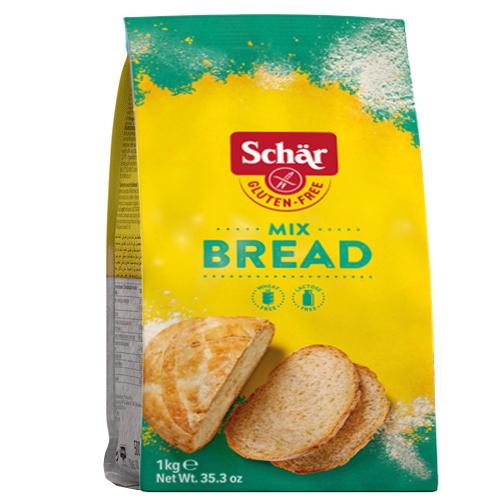 Αλεύρι για Ψωμί 'Mix Bread' Χωρίς Γλουτένη/Λακτόζη (1kg) Dr. Schar