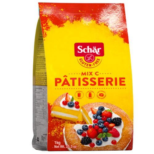 Αλεύρι για Γλυκά 'Mix C Pâtisserie' Χωρίς Γλουτένη/Λακτόζη (1kg) Dr. Schar