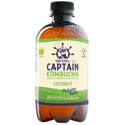 Κομπούχα 'Καρύδα' Γεύση (400ml) Captain Kombucha
