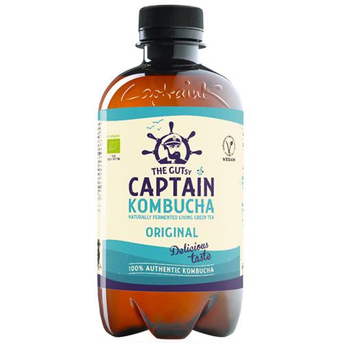 Κομπούχα 'Φυσική' Γεύση (400ml) Captain Kombucha