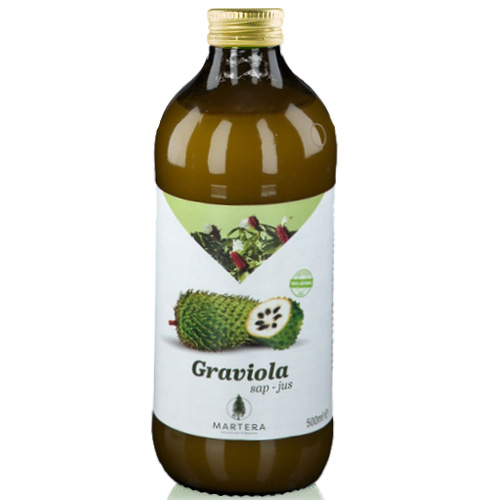 100% Φυσικός Xυμός/Πολτός Γκραβιόλα 'Graviola' (500ml) Martera