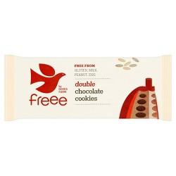 Μπισκότα με Διπλή Σοκολάτα - Χωρίς Γλουτένη (180γρ) Doves Farm