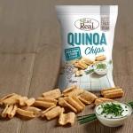 Τσιπς Κινόας με Sour Cream & Σχοινόπρασο - Χωρίς Γλουτένη (80γρ) Eat Real