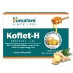 Παστίλιες για το Λαιμό με Αγιουρβεδικά Βότανα 'Koflet-H' - Τζίντζερ (12τμχ) Wedderspoon