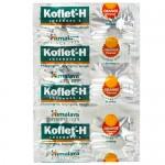Παστίλιες για το Λαιμό με Αγιουρβεδικά Βότανα 'Koflet-H' - Πορτοκάλι (12τμχ) Himalaya