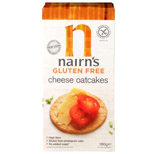 Μπισκότα Βρώμης με Τυρί Χωρίς Γλουτένη (180γρ) Nairn's