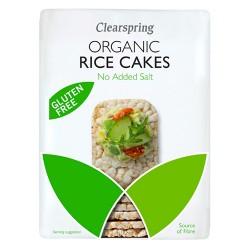 Ρυζογκοφρέτες Ολικής Χωρίς Αλάτι (130γρ) Clearspring