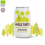 Αναψυκτικό Λεμονάδα  - Xωρίς Προσθήκη Ζάχαρης (330ml) Whole Earth