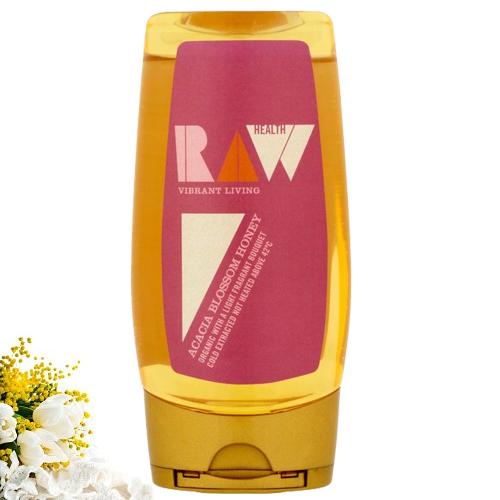Ωμό Mέλι Ακακίας (350γρ) Raw Health