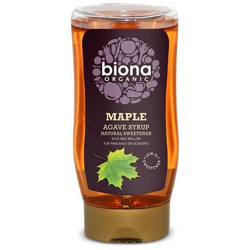Σιρόπι Αγαύης & Σφενδάμου (350γρ) Biona