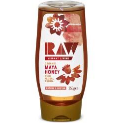 Ωμό Mέλι από Άνθη Λουλουδιών 'Maya Honey' (350γρ) Raw Vibrant Living