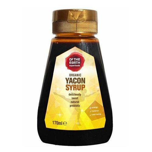 Σιρόπι Yacon (Γιακόν) - Φυσικό Γλυκαντικό με Χαμηλό GI (170ml) Of the Earth