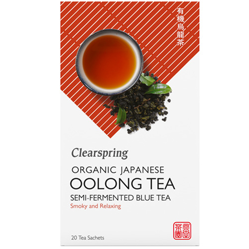 Γιαπωνέζικο Τσάι Oolong - Το Μπλε Τσάι (20φκλ) Clearspring