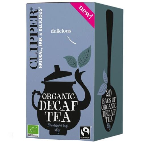 Μαύρο Τσάι Decaf - Χωρίς Καφεΐνη (20 φκλ) Clipper