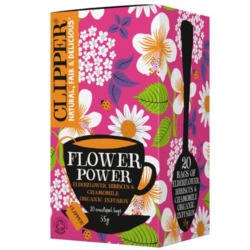 Τσάι 'Flower Power' με Σαμπούκο & Ιβίσκο (20 φκλ) Clipper